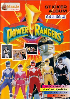 Power Rangers Séries 2 - Merlin