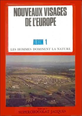 Nouveaux Visages de l'Europe - Album N° 1 - Superch. Jacques
