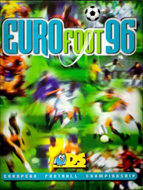 Euro Foot 96 -  DS Sticker collections - 1996