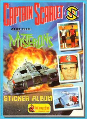Captain Scarlet & the Mysterons - Merlin - Angleterre