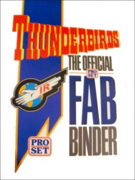 Thunderbirds The Official Pro-Set Fab Binder - Trading Cards
