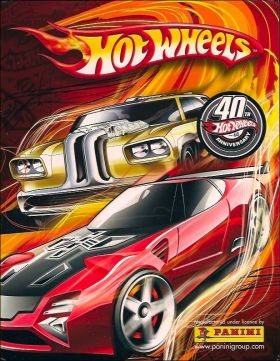 Hot Wheels - 40th Anniversary - Panini