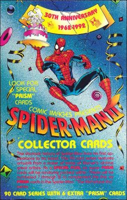 30th Anniversary 1962-1992 - Spider-Man II - Cards anglaises