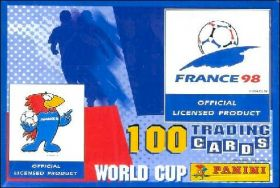 World cup France 98 - 100 Trading cards - Anglais