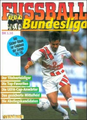 Fussball 95 Bundesliga Junior stickers - Endphase 94/95