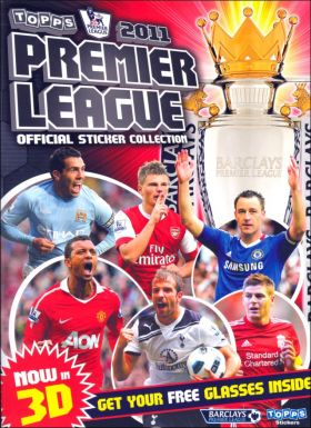 Premier League 2011 - Topps - Now in 3D - Angleterre