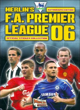Premier League 2006 -  Autograph Edition -  Angleterre