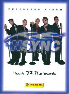NSYNC Platinnum Edition - Photocards