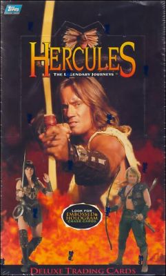 Hercules  The legendary journeys -  Tradings Cards - Anglais