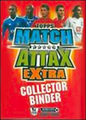Match Attax Extra 2007 - 2008 – Trading Cards - Angleterre