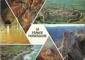 La France merveilleuse - Album d'images Coop - 1973