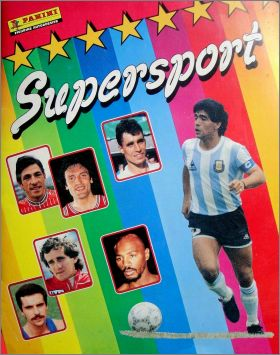 Supersport - Sticker Album - Panini 1986 - Italie