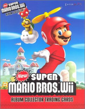 New super Mario.WII - Nintendo -  Trading cards fran�aises