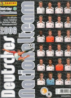 Deutsches Nationalteam 2006 - Panini - Allemagne