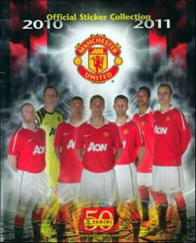 Manchester United 2010/2011 - Angleterre