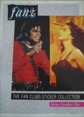 Fanz - The fan clubs sticker collection - series number one