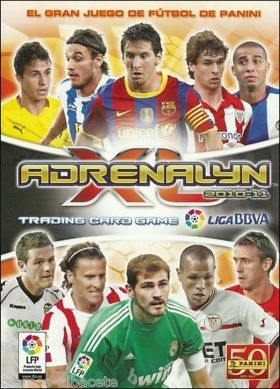 Adrenalyn XL 2010-11 Liga BBVA - Trading card game - Espagne