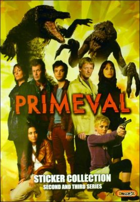 Primeval Séries 2 & 3 - Sticker Album - Emax Angleterre 2008