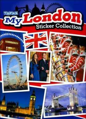 My London - Sticker Collection - Topps - Angleterre