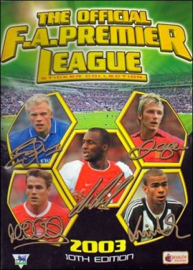 The Official FA. Premier League 2003 10TH Edition