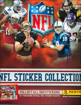 NFL 2010 - Stickers  Collection
