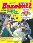 Baseball'91 - Sticker Album - Panini - 1991 - USA/Canada