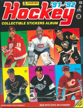 Hockey'91-92 - Album sticker Panini