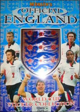 Merlin's England'98 - Official England World Cup