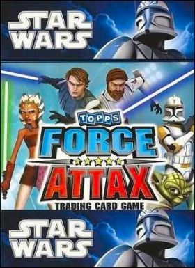 Star Wars - Force Attax - Tradings cards Topps - Anglais