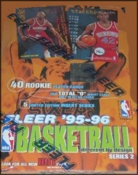 Fleer '95-96 Basketball - Série 2 - France