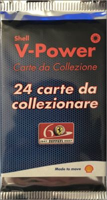 Shell - V-Power - Ferrari - Carte 2007
