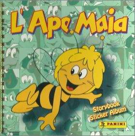 L'ape maia - Storybook sticker album