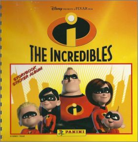 The Incredibles - Les Indestructibles - Storybook album