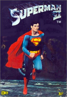 Superman 2 - Sticker album - Ageducatifs - France - 1980