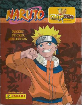 Naruto - Pocket sticker collection - Chipicao