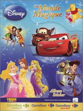 Un Monde Magique (Disney) - Carrefour - France - Panini 2011