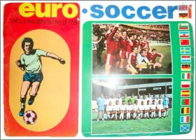 Euro Soccer postcards 1975/76