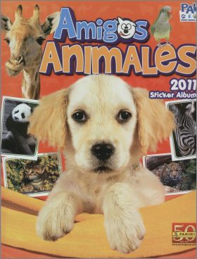 Amigos Animales - Cute Little Animals - Panini