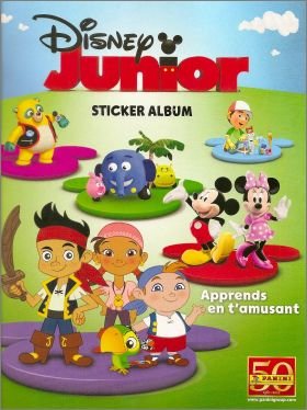 Disney Junior - Apprends en t'amusant - Panini - 2011