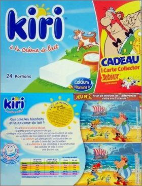 Astérix -  6 cartes collectors - Kiri 24 portions - 2006
