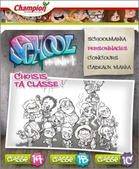 School Mania - Champion - Belgique