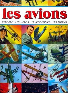 Les Avions - Album de vignettes Sagédition - 1971 - France