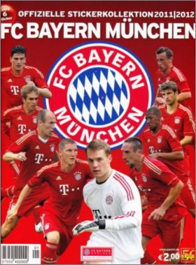 FC Bayern M�nchen 2011/2012 - Panini - Allemagne