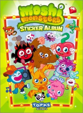 Moshi Monsters - Stickers Album - Topps - Angleterre - 2011