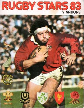 Rugby Stars 83 - V Nations - NST - Angleterre