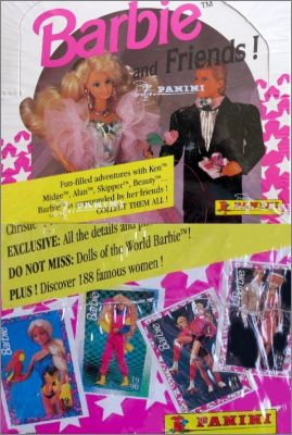 Barbie  and Friends - Trading cards 1992