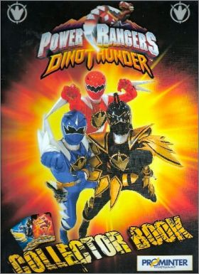 Power Rangers DinoThunder - Cards  - Prominter - Italie