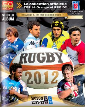 Rugby 2012 - Panini - France