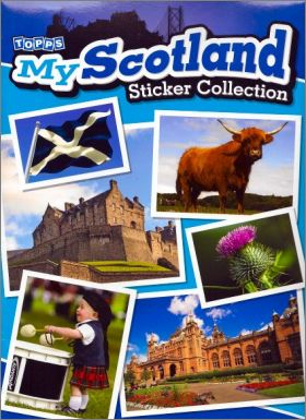 My Scotland Sticker Collection - Topps - Angleterre