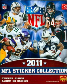 NFL 2011 - Sticker  Collection - Amérique
